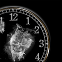 Skull Clock widget logo