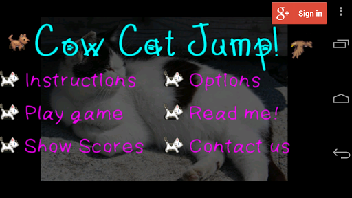 CowCat Jump : Platform Game