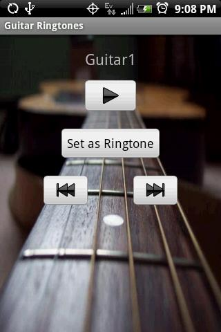 GUITAR Ringtones - screenshot