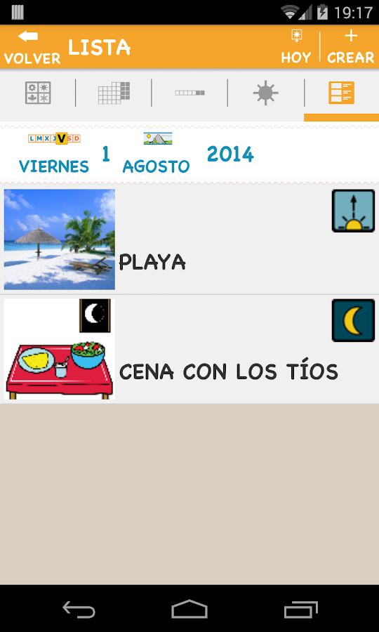 Día a Día- screenshot