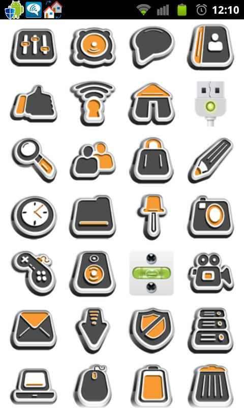 Icon App 2 Folder Organizer- screenshot