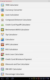 Financial Calculators Screenshot 25