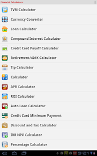 Financial Calculators Screenshot 25