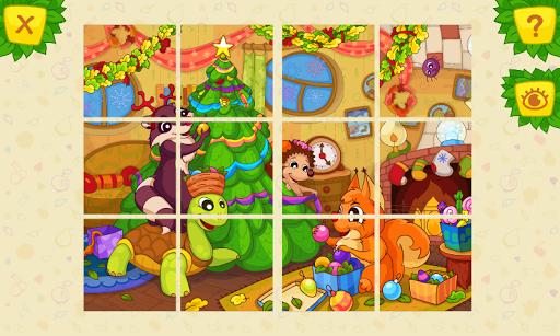 动物智力拼图 免费儿童游戏
