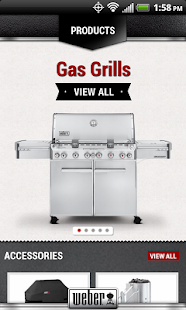 Weber® Grills- screenshot thumbnail