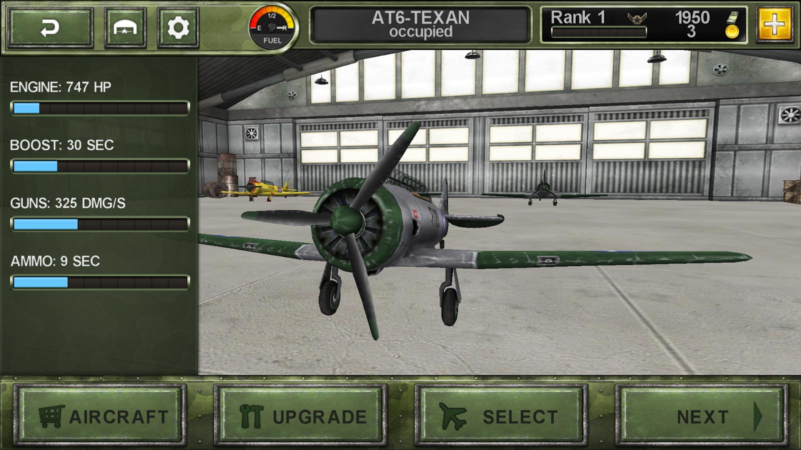 FighterWing 2 Flight Simulator- screenshot