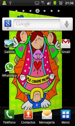 【免費個人化App】Virgencita Plis Cuidanos LWP-APP點子