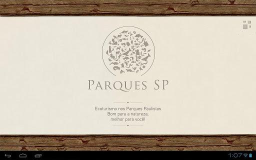 Parques SP - Tablet