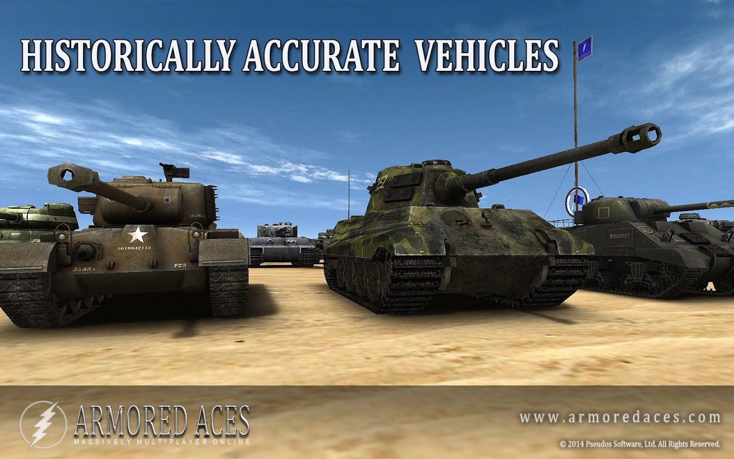 Armored Aces - 3D Tanks Online - screenshot