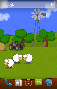 Sheep! Live Wallpaper (Free) - screenshot thumbnail