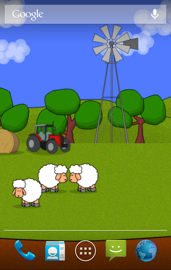 Sheep! Live Wallpaper (Free) - screenshot