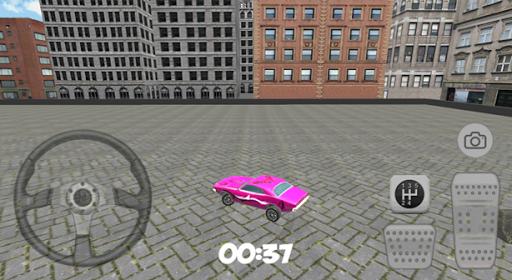 市粉紅停車場