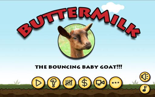 Buttermilk: Bouncing Baby Goat