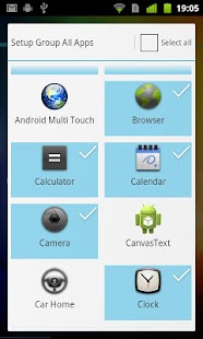 ADW.Launcher – Miniaturansicht des Screenshots