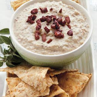 Kalamata-Garbanzo Hummus.