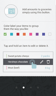 Buy Me a Pie! Grocery List - screenshot thumbnail