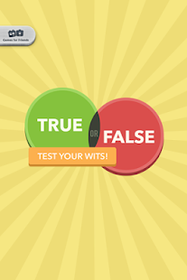 True or False - Test Your Wits Screenshot