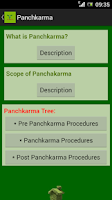 Screenshot of Panchakarma