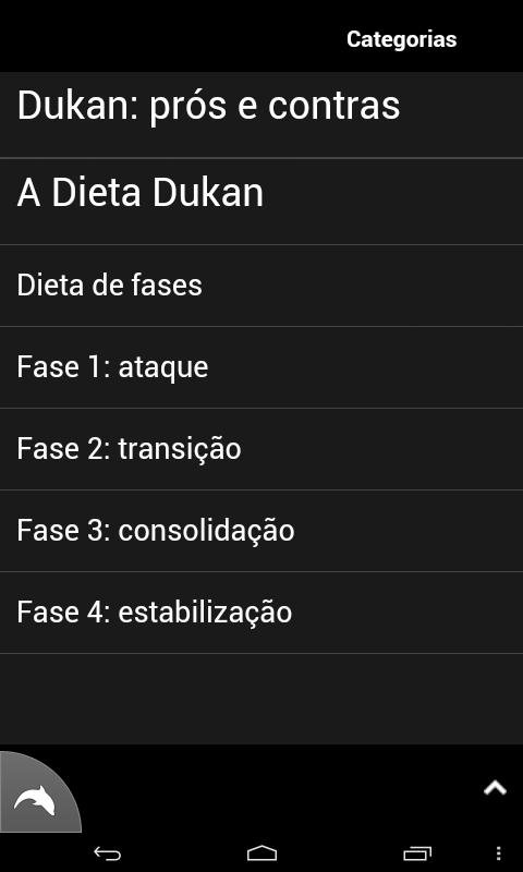 Dukan Dieta - screenshot