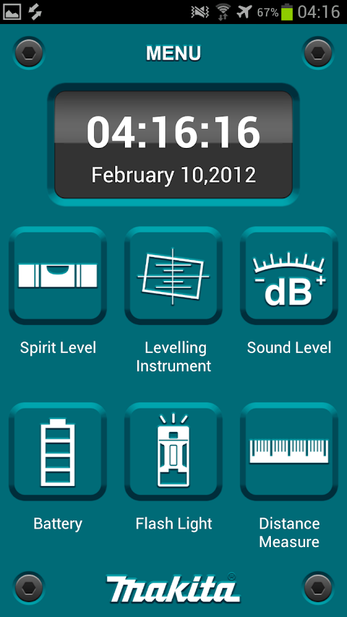 Makita Mobile Tools- screenshot