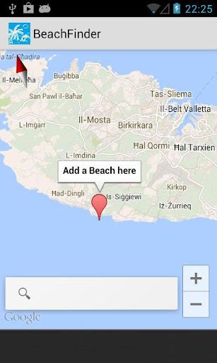 Beach Finder Beta