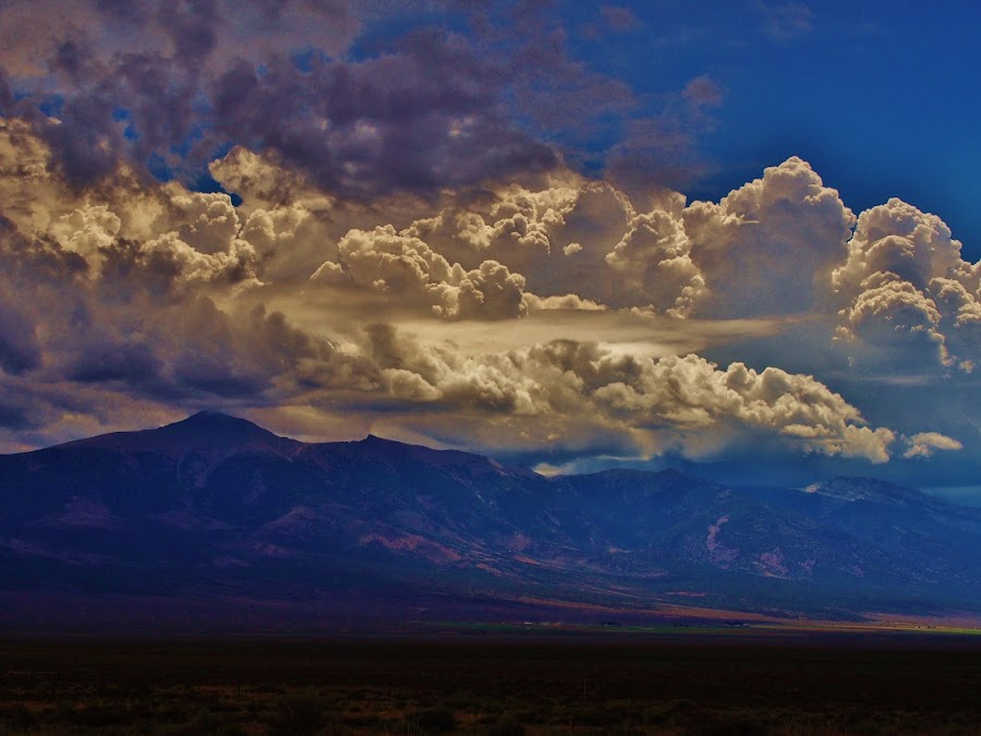 From the Mountains to the Prairies by Steven Kirwan - Landscapes Cloud Formations ( cloud formations, clouds, cloud, cloudy, cloudscape, cloud formation )
