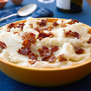 Bacon-Garlic Mashed Potatoes