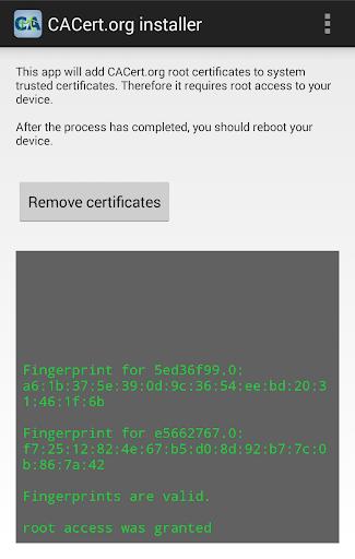 CACert.org installer [root]