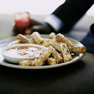 Moroccan-Style Chicken Phyllo Rolls.