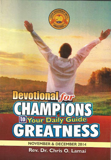 Devotional for Champions