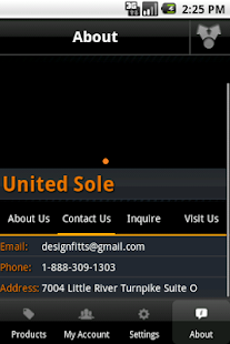United Sole Sneaker App - screenshot thumbnail