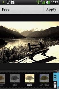 photo editor - screenshot thumbnail