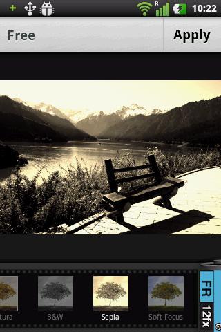 photo editor - screenshot