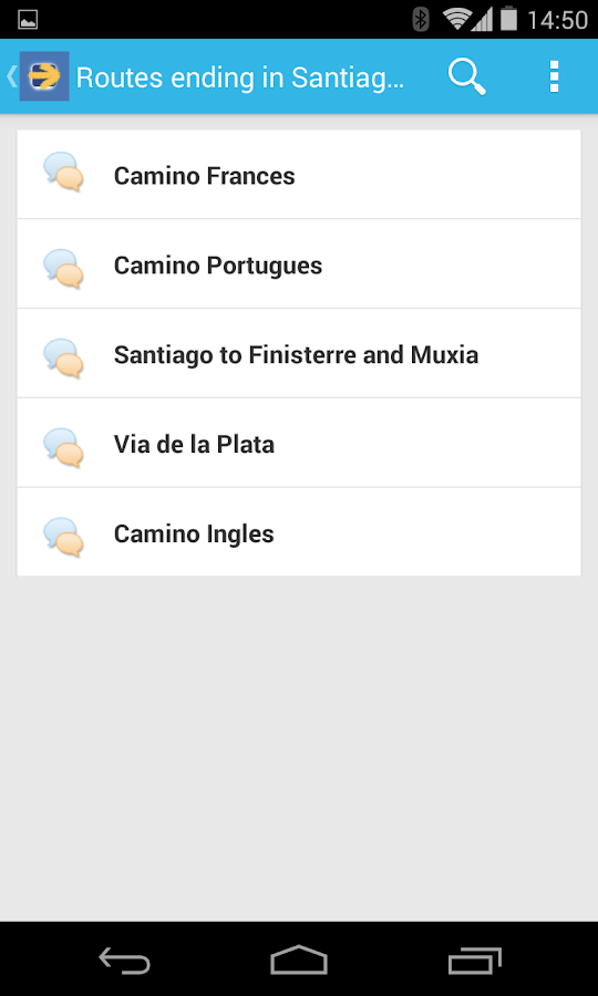 Camino de Santiago Forum - screenshot