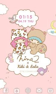 Ninamew × Kiki Lala LWallpaper