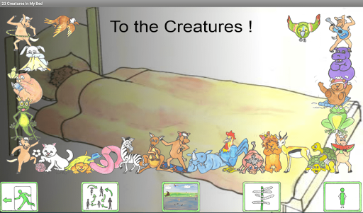 【免費書籍App】23 Creatures-APP點子
