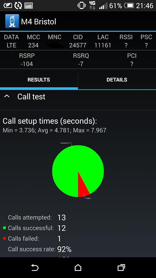 RantCell   Network Speed Test  screenshot