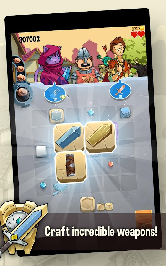 Screenshots of Puzzle Forge 2 for iPhone