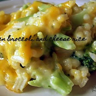 Broccoli Chicken and cheesy rice