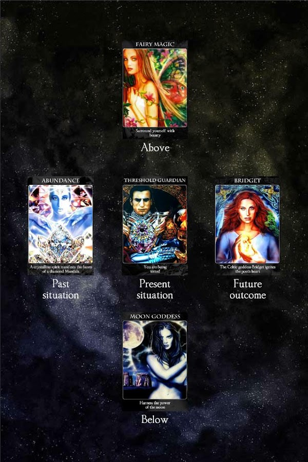 Crystal Wind Oracle Cards - screenshot