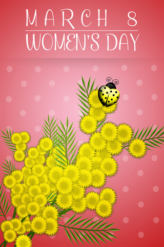 Womens Day Greeting Cards Wish