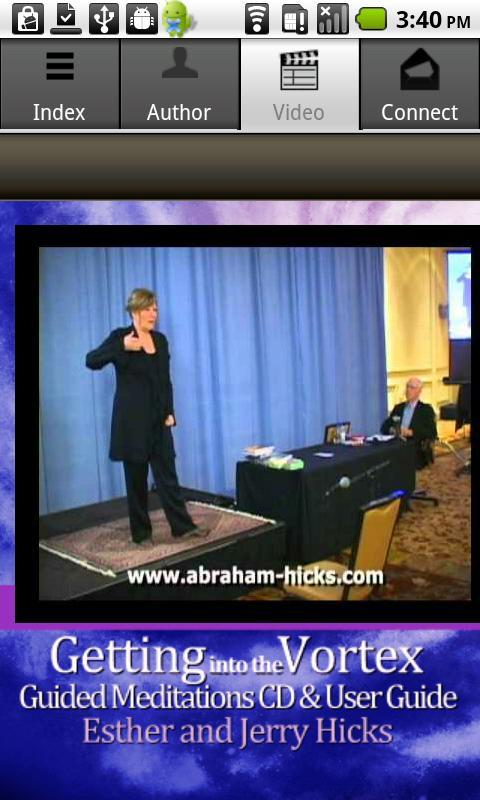 Abraham-Hicks Meditations 1- screenshot