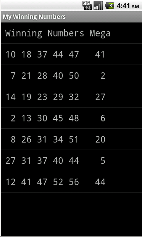 Lucky Lotto- screenshot