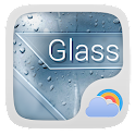 Glass Reward Theme GO Weather icon