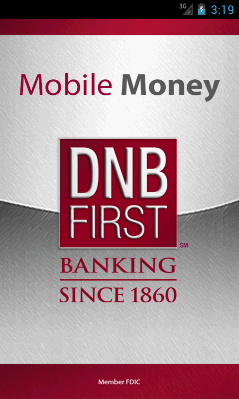 DNB First Mobile Money - screenshot