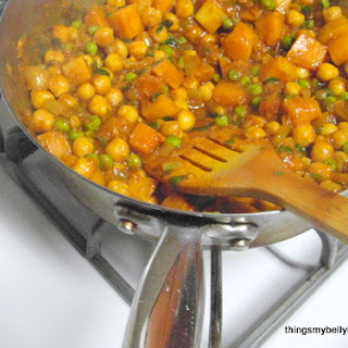 Butternut & Chickpea Curry