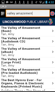 Lincolnwood Public Library - screenshot thumbnail