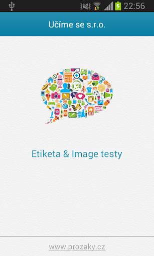 Etiketa image - testy