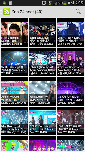 K-pop TV Shows