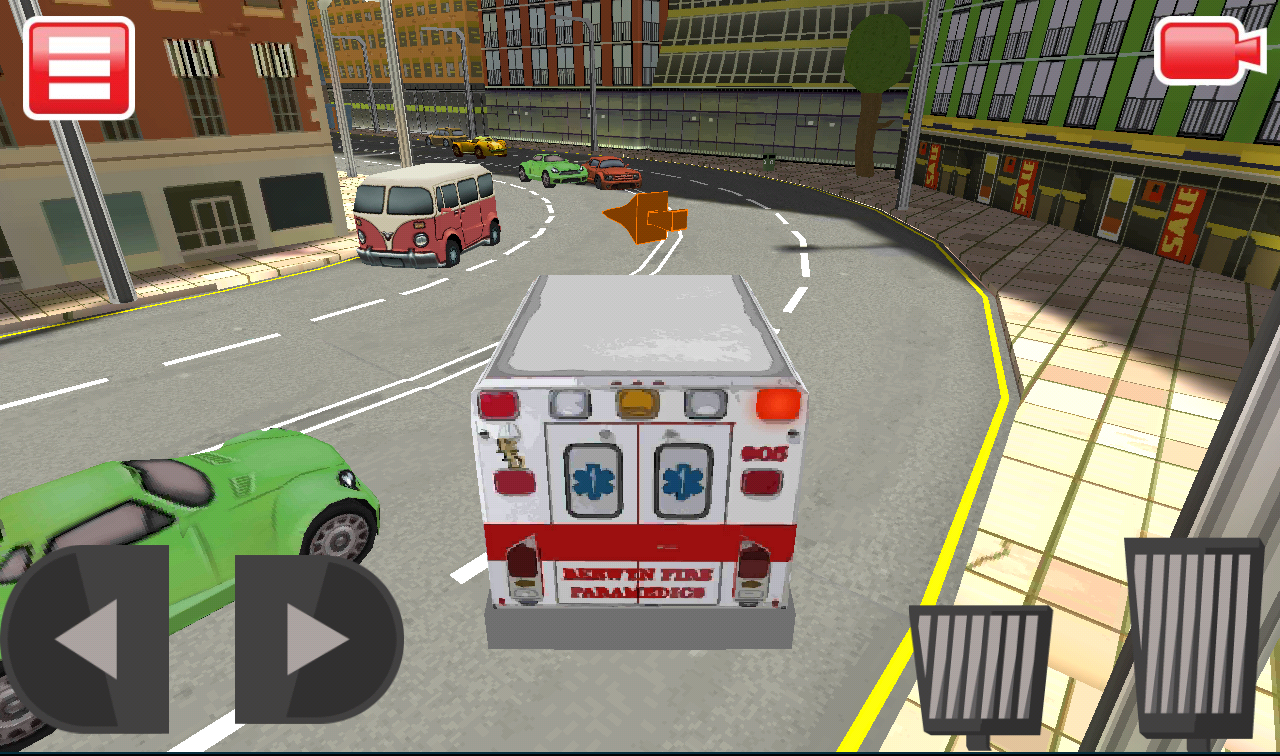 3d ambulance driving simulator android apps on google play
